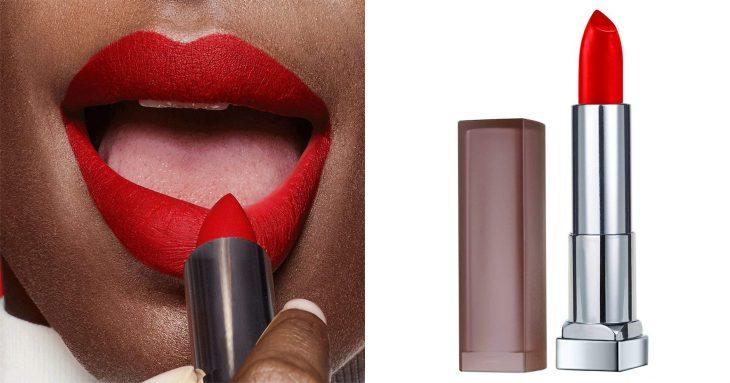 labios rojos y balamos