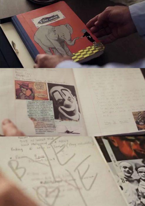 El diario que Heath Ledger escribió para interpretar al Guasón