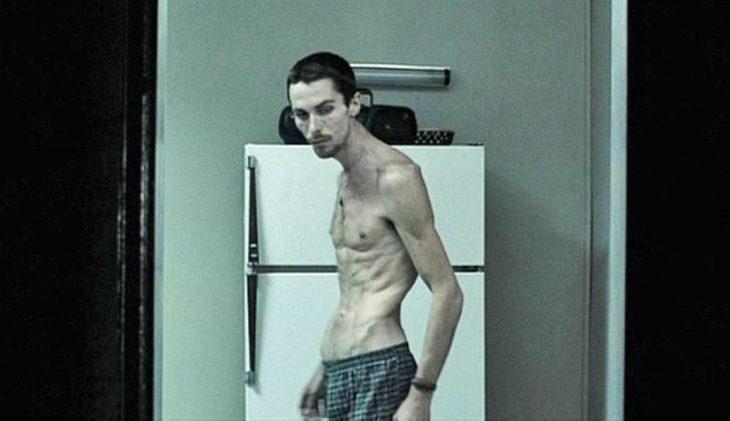 Christian Bale perdió 30 kilos para la película de El maquinista