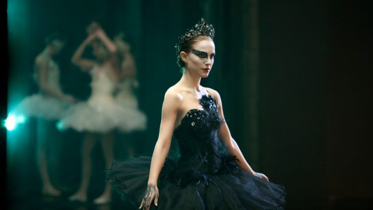 Natalie Portman vestida de bailarina para el Cisne negro