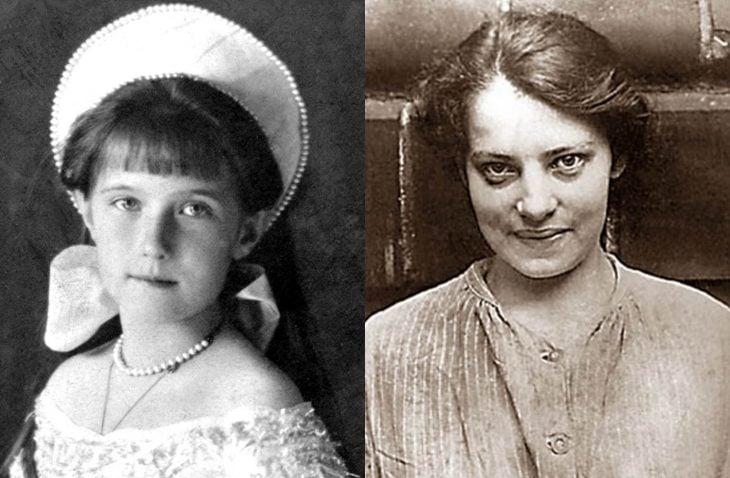 Comparación de Anastasia con la impostora al trono Anna Anderson