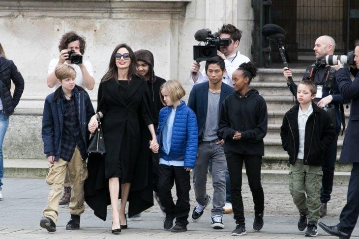 Angelina Jolie y Keanu Reeves, ¿la nueva pareja del momento?