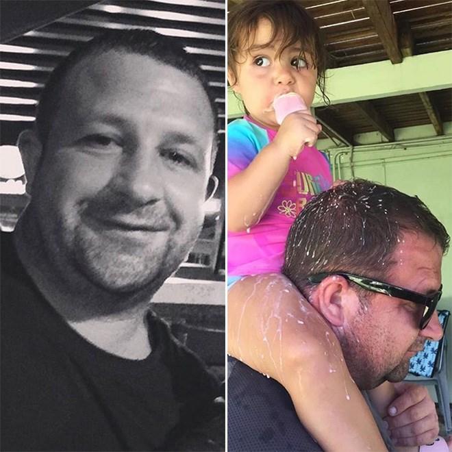 Chico antes y después de tener un bebé