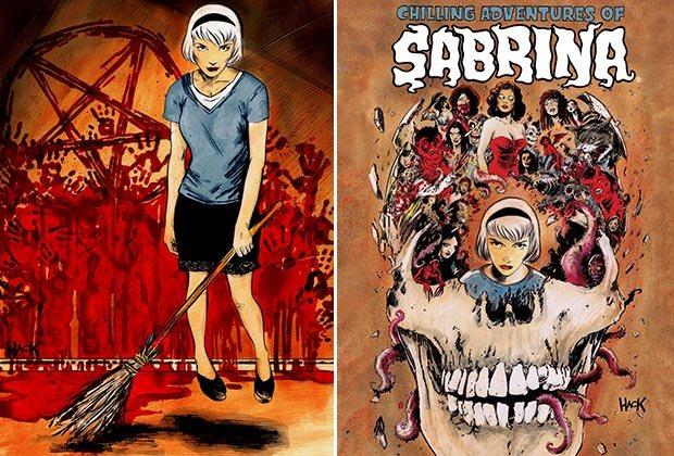 portada del comic de sabrina
