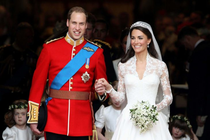 William y Kate el día de su boda