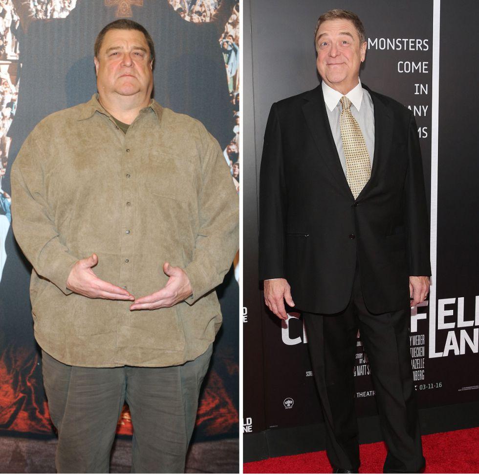 Actors antes y despues de adelgazar