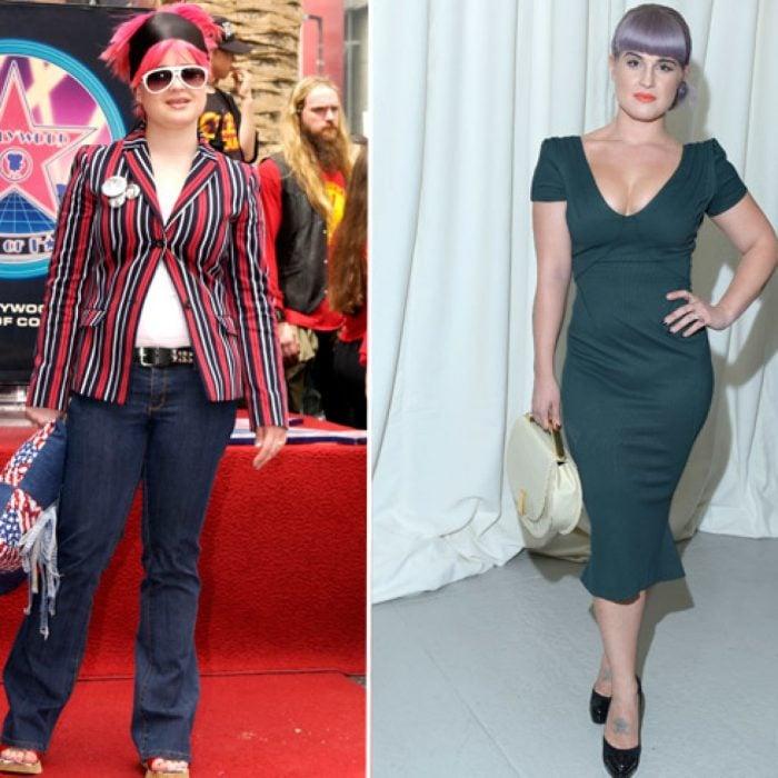 Kelly osburne antes y después de perder peso