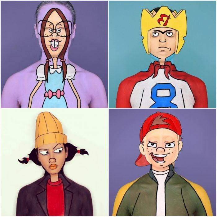personajes recreo