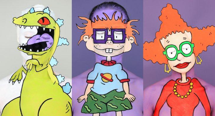 caricaturas de Rugrats