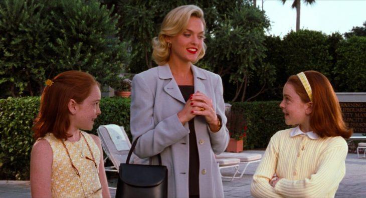 Lindsay Lohan es más vieja que la actriz que hizo el papel de Meredith cuando se filmó Juego de gemelas