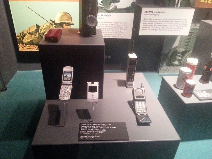 El Motorola RAZR es parte de la exposición de un museo