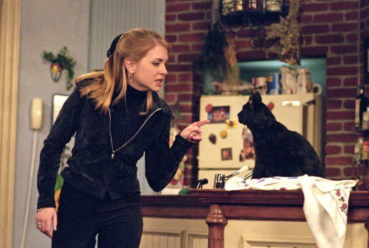Sabrina y Salem salieron en todos los episodios