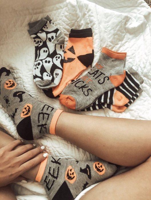 Calcetines para halloween