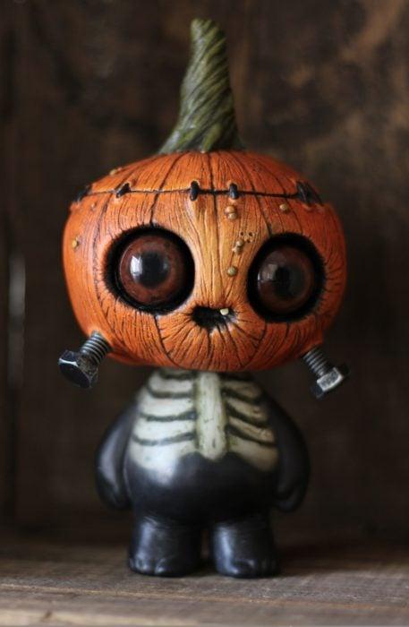 Adorno de calabaza para halloween