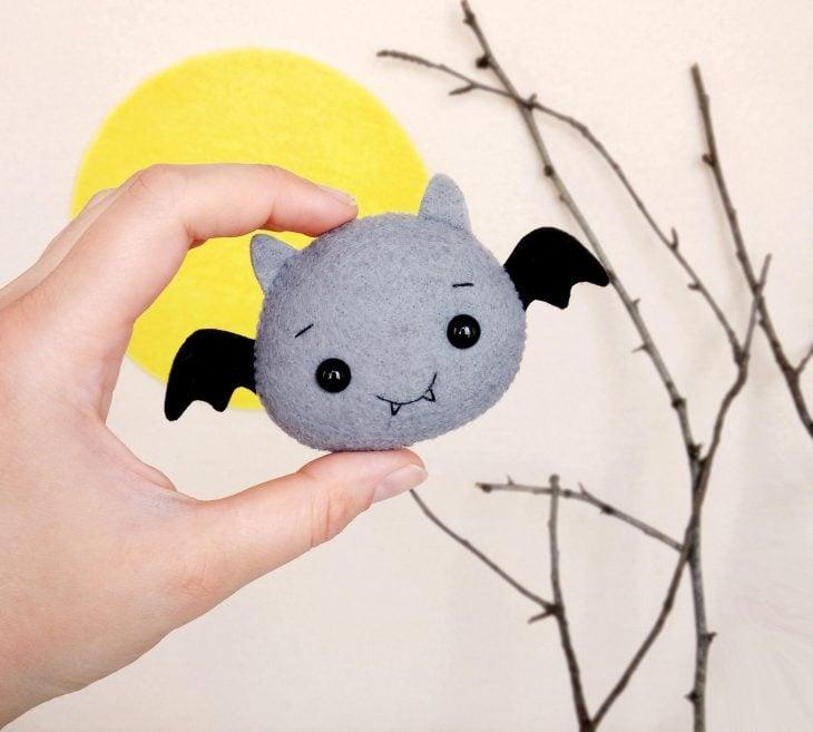 Adorno de murciélago para halloween