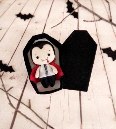 Adorno de Drácula para halloween
