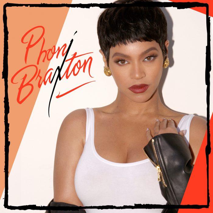 Beyonce disfrazada de Toni Braxton
