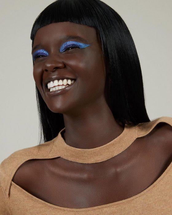 Duckie Thot, modelo australiana de origen sudanés