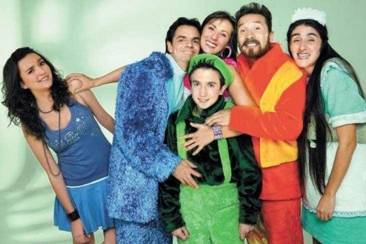 Actores que interpretan a los personajes de la serie la familia P.Luche