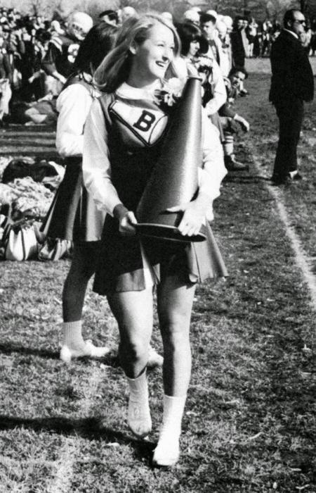En 1966 Meryl Streep era porrista y reina de su escuela