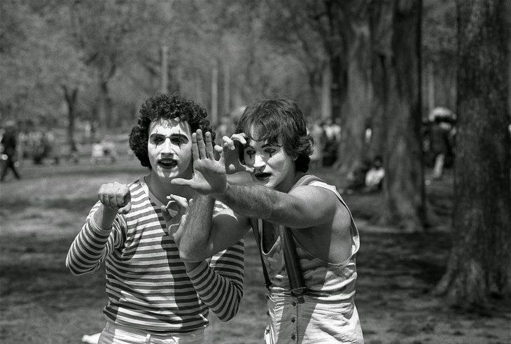 En 1974 un fotógrafo tomó, sin saberlo, esta fotografía de Robin Williams