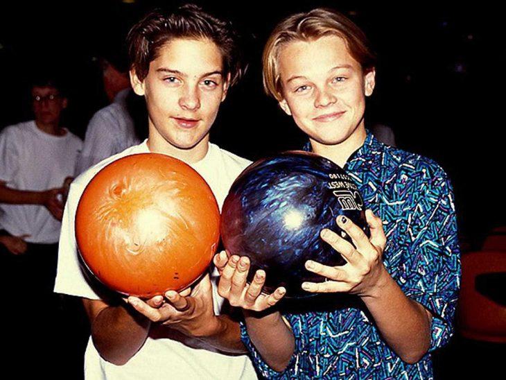 Ya en 1989 Tobey Maguire y Leonardo DiCaprio eran grandes amigos