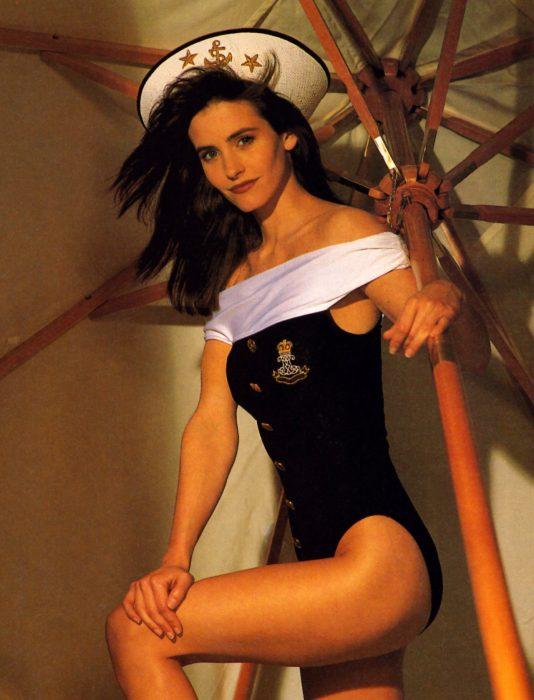 Antes de interpretar a Monica en Friends, Courteney Cox era aspirante a modelo