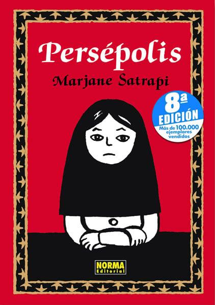 portada del libro Persépolis