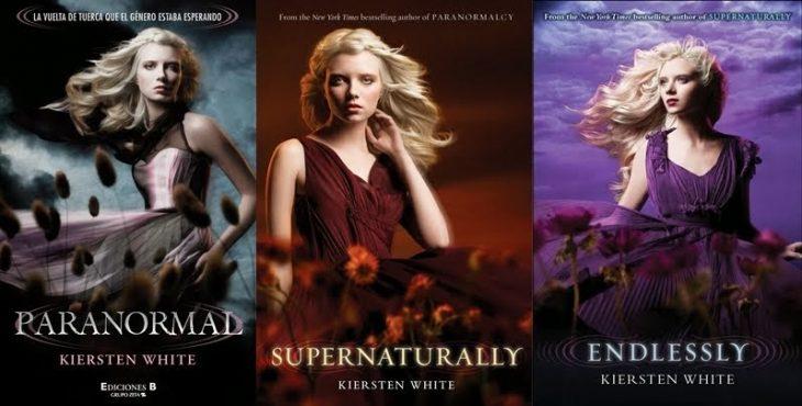 portadas del libro paranormalcy