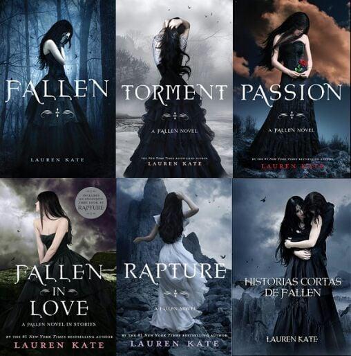 portadas del libro Fallen