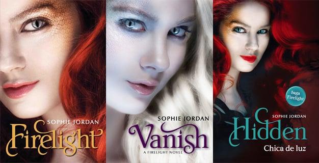 portadas del libro Firelight