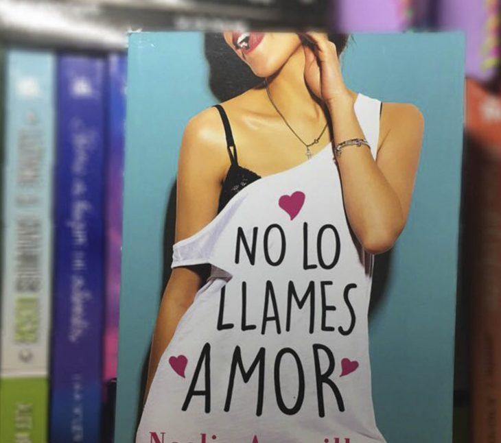 Portada del libro no lo llames amor