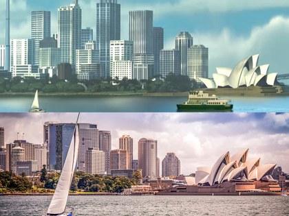 Sydney Habour, Australia lugar que inspiró a la película de nemo