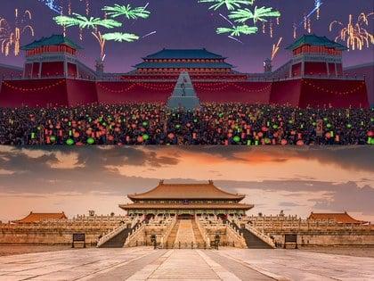 La ciudad Prohibida, Beijing lugar que inspiró la película de Mulan