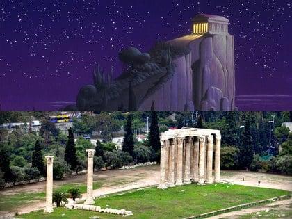 Grecía, lugar en que se inspiró la película de Hércules