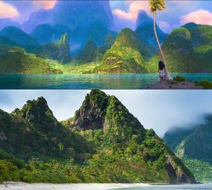 Isla de Samoa, lugar en que se inspiraron para hacer la película de Moana
