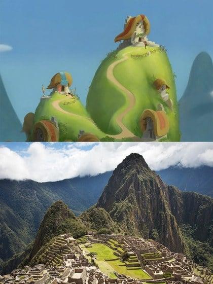 Machu Picchu, Peru lugar que inspiró la película de Kuzco