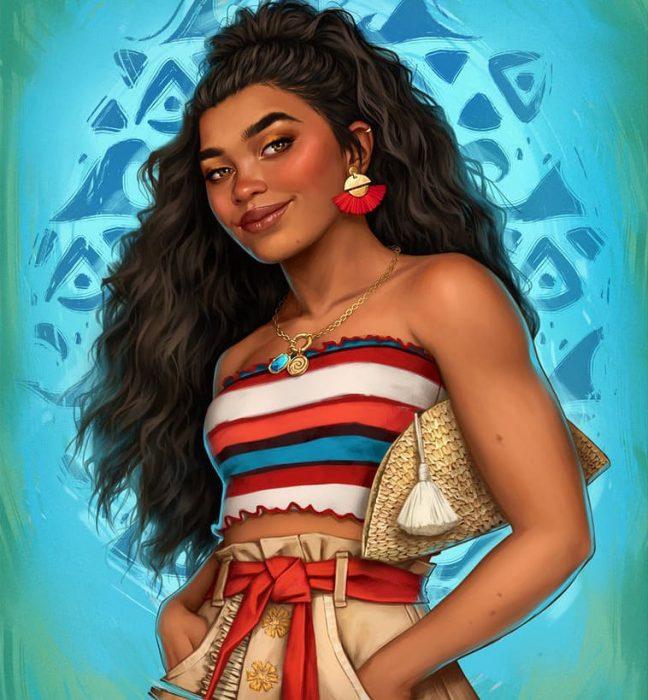 Personajes de 'Disney' fueron recreados por artista digital para hacerlos ver modernos