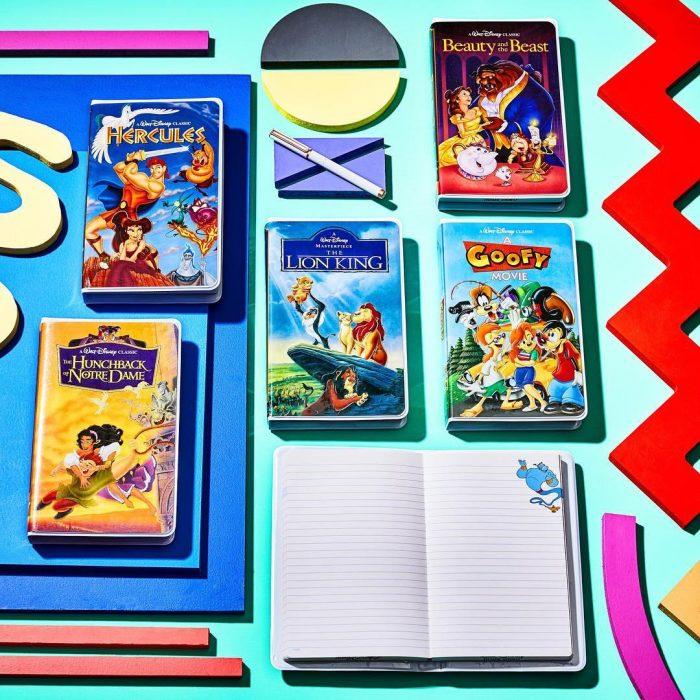 Libretas de películas Disney