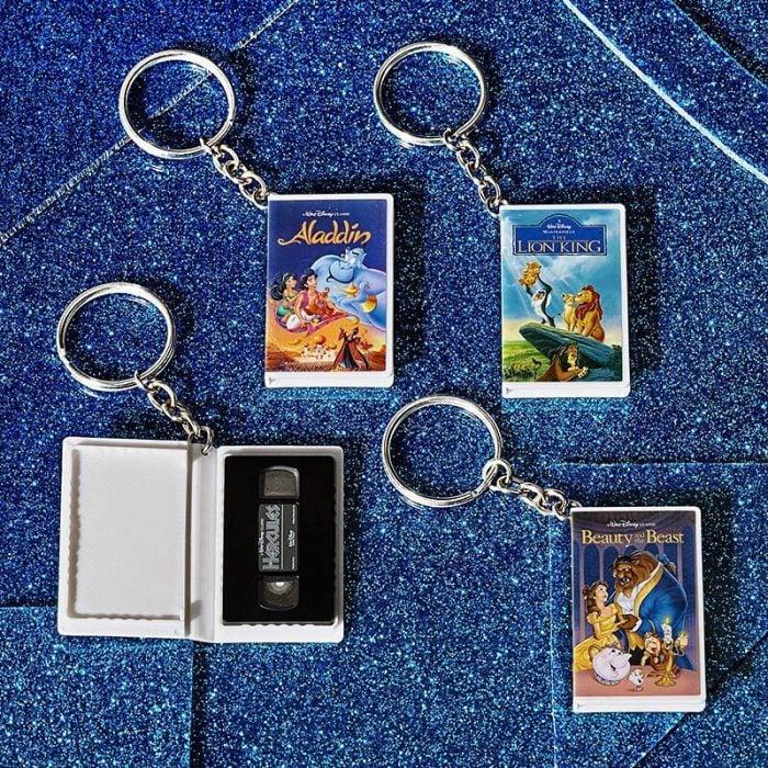 Llaveros de VHS de películas Disney