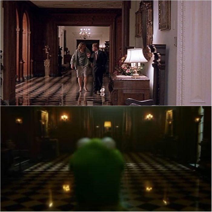 Escena de los muppets