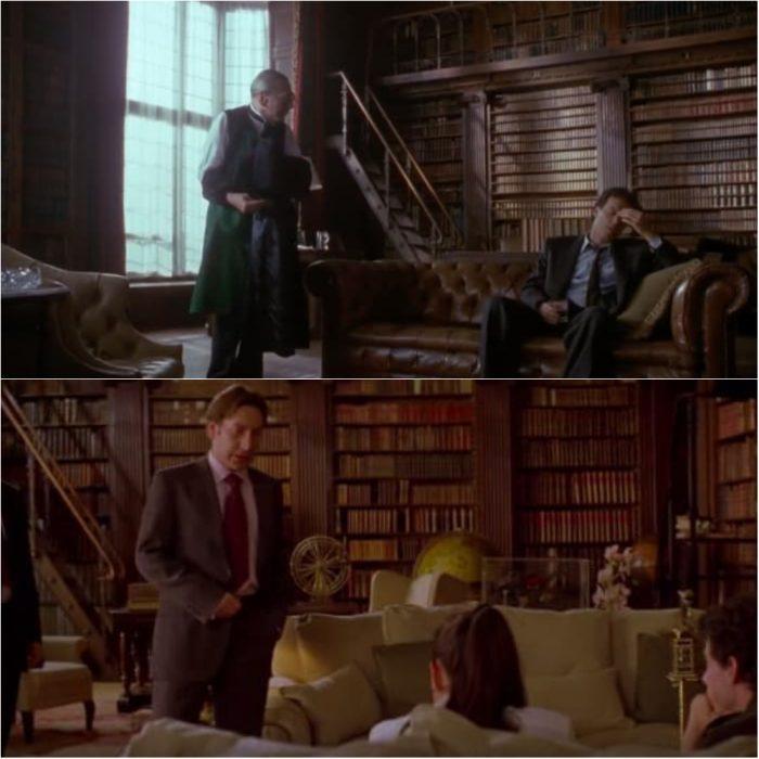 personas en una biblioteca