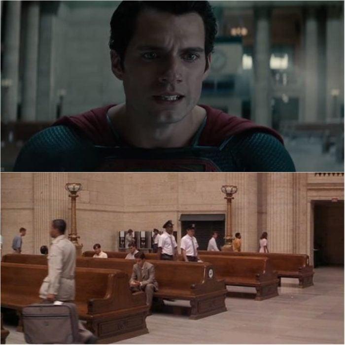 Escena de la película de Superman