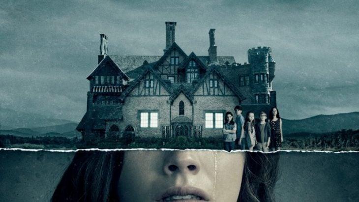 poster oficial de La maldición de Hill House