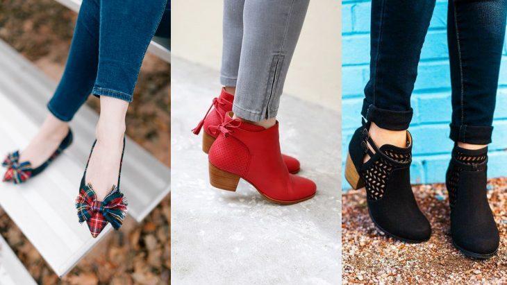 Estilos diferentes de zapatos