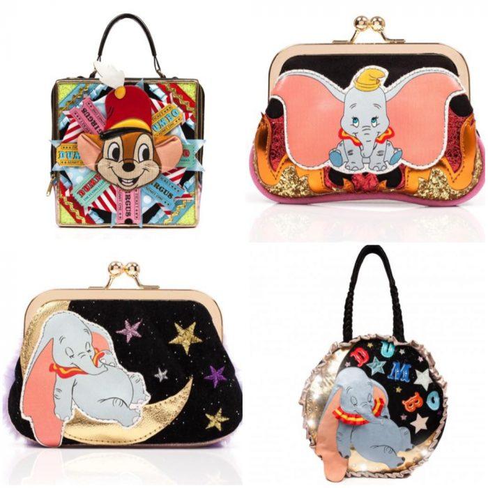 Bolsos con decoraciones inspiradas en Dumbo