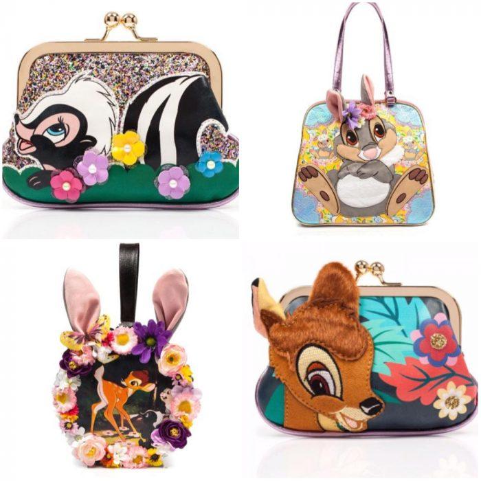 Bolsos con decoraciones inspiradas en Bambi