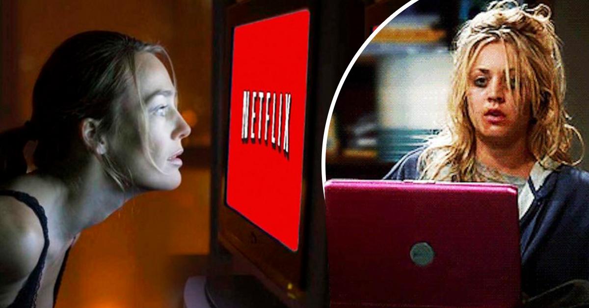 Reportan el primer caso severo de adicción a Netflix y no son buenas noticias