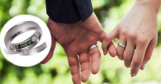 Crean anillo de compromiso con dispositivo GPS para rastrear a tu pareja