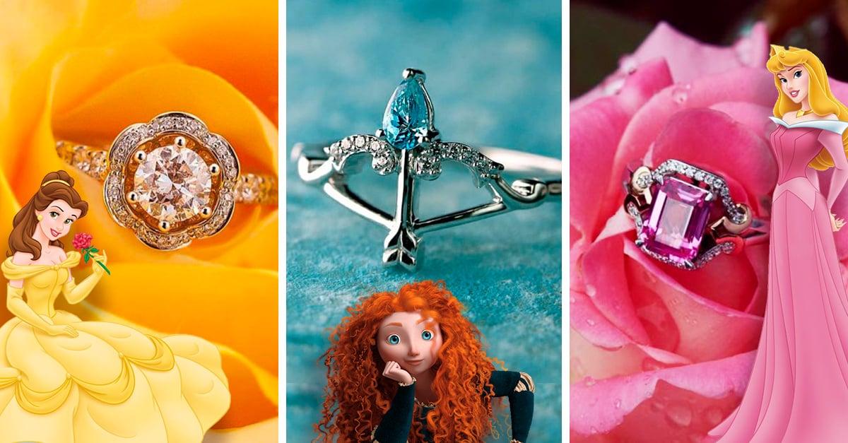 Disney acaba de lanzar una colección de anillos de compromiso inspirados en las princesas